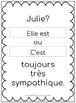 C'est versus Il est - 50 French task cards