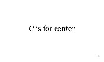 C is for California flash cards