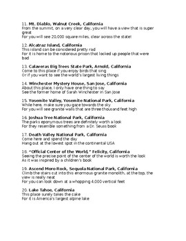 C is for California state facts