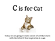 C is for Cat: An Art Project for Kids