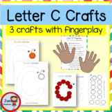 C is for Caterpillar with a Butterfly