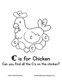 Phonics Farm: C is for Chicken