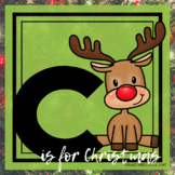 C is for Christmas Themed Unit-Preschool Lesson Plans - Distance Learning