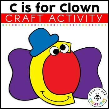 Letter C Craft {Clown}