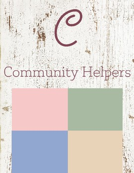 C is for Community Helpers
