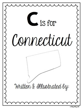 C is for Connecticut (A State Alphabet Book)