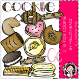 C is for cookie clip art- Melonheadz clipart