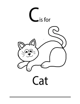 C is for worksheet FREE