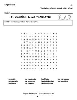 C1 - EL JARDÍN EN MI TRASPATIO