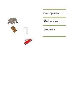 C24 Adjectives/Opposites WEBABLLS ABA