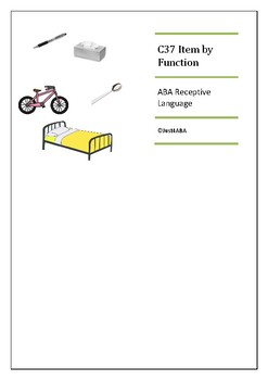 C37 Item by Function ABA