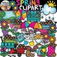 Four Seasons Clipart Growing Bundle {Seasons Clipart}