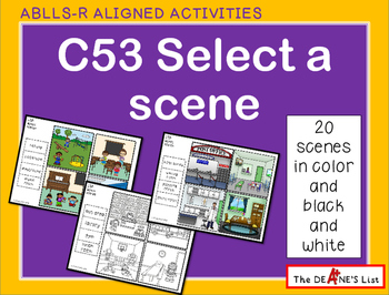 ABLLS-R ALIGNED ACTIVITIES C53 Select a scene