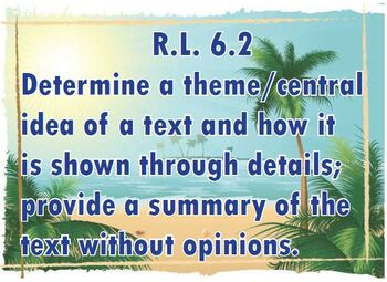 CA Common Core 6th grade Standards RI 1-5