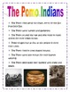 CA Indian Tribes Facts for Writing