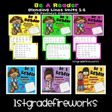 CA Journeys BLENDING LINES Grade 1 Units 1-6