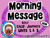 Grade 1 Morning Message Units 1 & 2