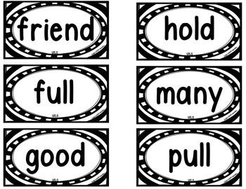 Grade 1 WORD WALL Units 1-3