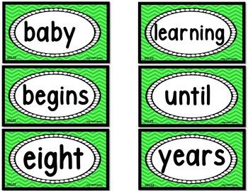Grade 1 WORD WALL Units 4-6