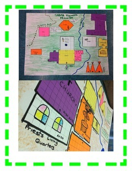 California MISSION Geometry Activity-Exploring Lines, Area, and Perimeter