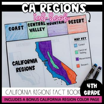 CA Regions Tab Book- CA 4th Grade History