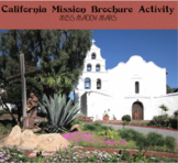 CA Spanish Missions Brochure Activity
