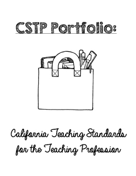 CA Teaching Standards Binder Set