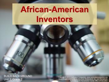 CA Treasures African-American Inventors Grade 2 Unit 2 (Common Core Standards)