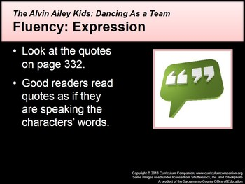 CA Treasures Alvin Ailey Kids: Dancing As a Team Grade 2 Unit 3 (Common Core)