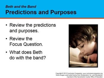 CA Treasures Beth and the Band Grade 1 Unit 2 (Common Core Standards)