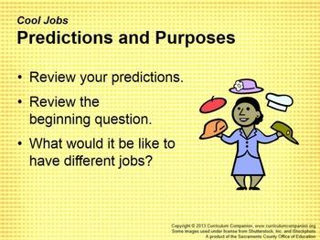 CA Treasures Cool Jobs Grade 1 Unit 6 (Common Core Standards)
