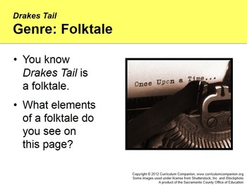 CA Treasures Drakes Tail Grade 1 Unit 4 (Common Core Standards)