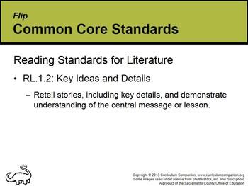 CA Treasures Flip Grade 1 Unit 1 (Common Core Standards)