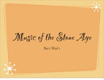 McGraw Hill Treasures Gr.2: Music of the Stone Age Vocabulary Presentation