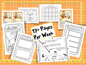 CA Treasures • Happy Fall • Interactive Notebook • Unit 5 Week 4