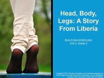 CA Treasures Head, Body, Legs Grade 2 Unit 4 (Common Core Standards)