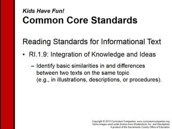 CA Treasures Kids Have Fun! Grade 1 Unit 3 (Common Core Standards)