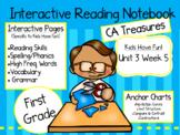 CA Treasures • Kids Have Fun• Interactive Notebook • Unit 3 Week 5