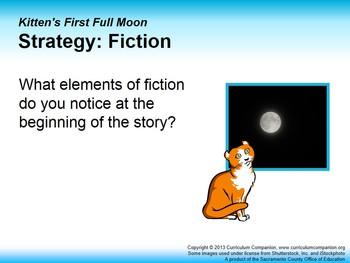 CA Treasures Kitten's First Full Moon Grade 1 Unit 5 (Common Core Standards)
