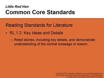 CA Treasures Little Red Hen Grade 1 Unit 2 (Common Core Standards)