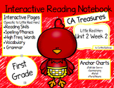 CA Treasures • Little Red Hen • Interactive Notebook • Uni