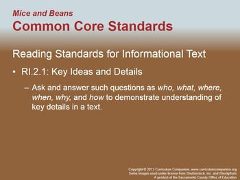 CA Treasures Mice and Beans Grade 2 Unit 4 (Common Core Standards)