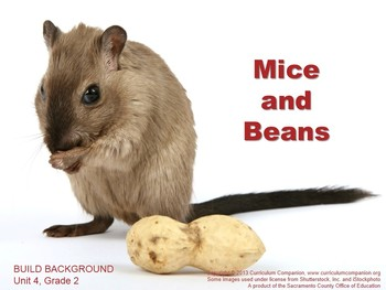 CA Treasures Mice and Beans Grade 2 Unit 4 (Common Core St