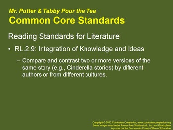 CA Treasures Mr. Putter & Tabby Pour the Tea Grade 2 Unit 1 (Common Core)