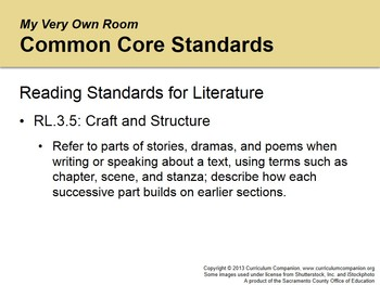 CA Treasures My Very Own Room Grade 3 Unit 1 (Common Core Standards)
