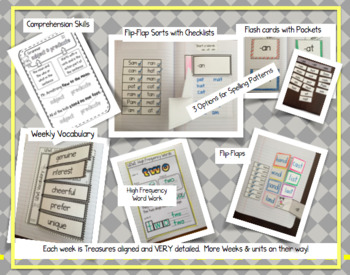 CA Treasures • Olivia • Interactive Notebook • Unit 6 Week 1