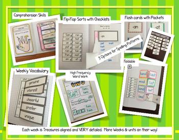 CA Treasures • On My Way to School• Interactive Notebook • Unit 3 Week 1