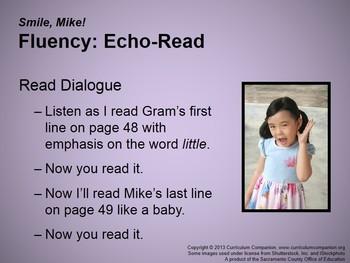 CA Treasures Smile, Mike! Grade 1 Unit 3 (Common Core Standards)