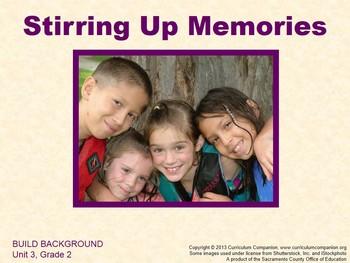 CA Treasures Stirring Up Memories Grade 2 Unit 3 (Common C