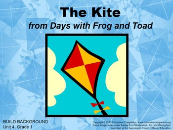 CA Treasures The Kite Grade 1 Unit 4 (Common Core Standards)